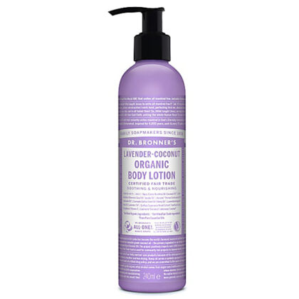 "Dr. Bronner's Magic ""All In One"" Lavender Coconut Body Lotion Organic"