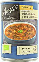 Amy's Quinoa Kale & Red Lentil Soup Organic