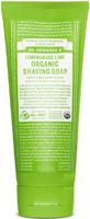 Dr. Bronner's Moisturising Shaving Soap Lemongrass & Lime Organic F/T