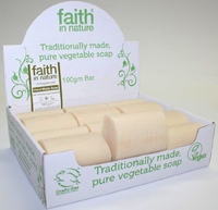 Faith in Nature Unfragranced Seaweed Soap Unwrapped