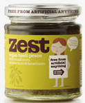 Zest Vegan Basil Pesto 165g