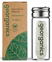 Georganics Natural Floss Spearmint
