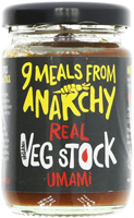 9 Meals From Anarchy Real Umami Veg Stock
