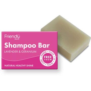 Friendly Shampoo Bar Lavender & Geranium