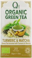 Qi Green Tea Turmeric & Matcha Organic