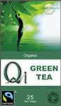 Qi Green Tea 25 Bags Organic F/T