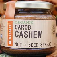 Nutcessity Carob Cashew Nut & Seed Spread Organic