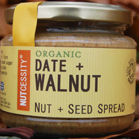 Nutcessity Date & Walnut Nut & Seed Spread Organic