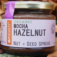 Nutcessity Mocha Hazelnut Nut & Seed Spread Organic