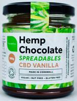 Themptation Hemp Chocolate Spreadables CBD Vanilla