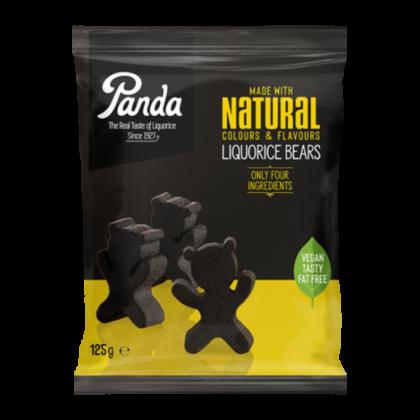 Panda Natural Soft Liquorice Bears