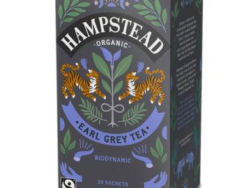 Hampstead Tea Earl Grey Tea Sachets Organic