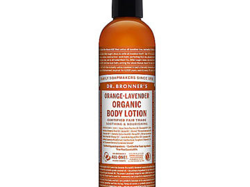 """Dr. Bronner's Magic """"All One"""" Orange Lavender Hand & Body Lotion"""