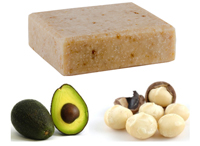 Balm Of Gilead Avocado Macadamia & Oatmeal Soap Organic