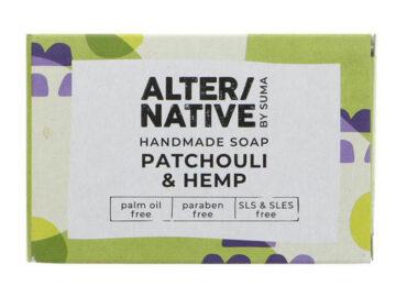 Alter/Native Patchouli & Hemp Natural Soap