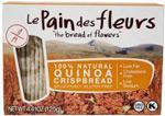 Le Pain des Fleurs Quinoa Crispbread Organic