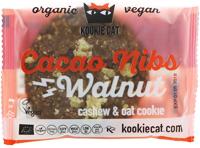Kookie Kat Cacao Nibs Walnut Cookie Organic
