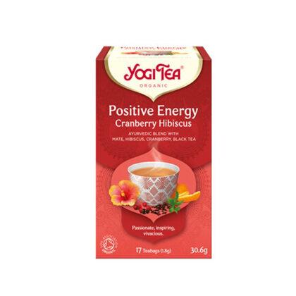 Yogi Positive Energy Cranberry Hibiscus Tea Organic