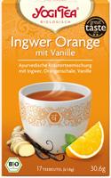 Yogi Ginger Orange With Vanilla Tea Organic