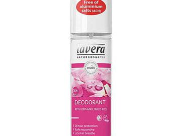 Lavera Wild Rose Deodorant Spray Organic