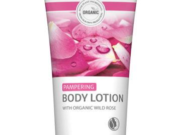 Lavera Rose Pampering Body Lotion Organic