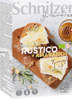 Schnitzer Gluten Free Rustico Amaranth Bread Organic