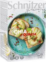 Schnitzer Gluten Free Chia & Quinoa Bread Organic
