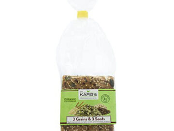 Dr. Karg 3+3 Grain & Seed Wholegrain Crispbreads Organic