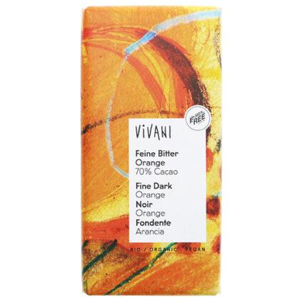 Vivani Orange Dark Chocolate Organic