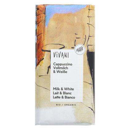Vivani Cappuccino Chocolate Organic 100g