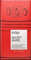 Vivani Marzipan Amaretto Dark Chocolate Organic