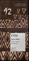 Vivani Panama 92% Dark Chocolate & Coconut Blossom Organic