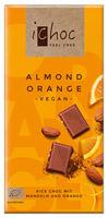 iChoc Almond Orange Vegan Chocolate
