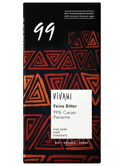 Vivani Panama 99% Dark Chocolate Organic