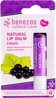 Benecos Natural Lip Balm Cassis Organic