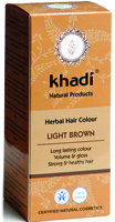 Khadi Light Brown Herbal Hair Colour