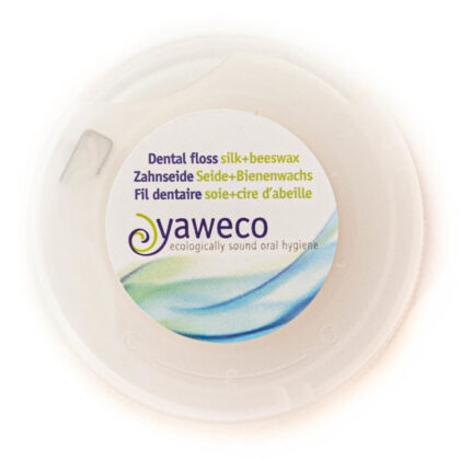 Yaweco Dental Floss with Silk & Beeswax