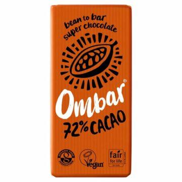 Ombar Dark 72% Chocolate Organic