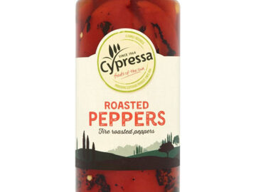 Cypressa Fire Roasted Peppers