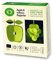 Doves Farm Apple & Sultana Flapjacks Organic (X4)