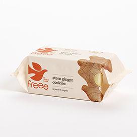 Doves Farm Stem Ginger Cookies Organic ~ Gluten Free