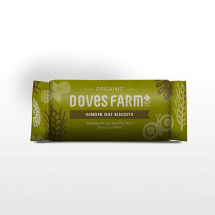 Doves Farm Ginger Oat Biscuits Organic