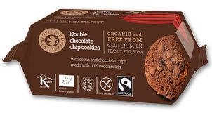 Doves Farm Double Chocolate Cookies Organic