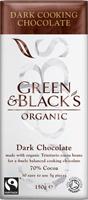 Green & Black's Dark Cooking Chocolate Organic