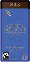 Green & Black's Milk Chocolate Organic 35g