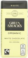 Green & Black's White Chocolate Organic 35g