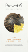 Prewett's Spicy Dark Chocolate Ginger Cookies