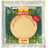 Natco Madras Garlic Authentic Pappadoms