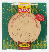 Natco Jeera Authentic Pappadums