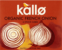 Kallo French Onion Stock Cubes Organic